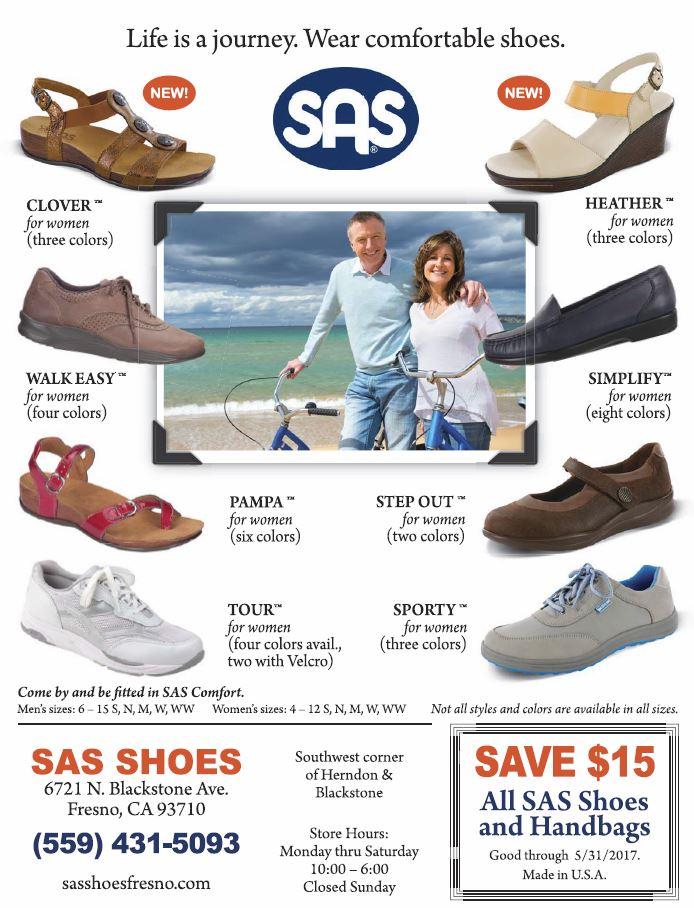 SAS Shoes Fresno   Semi-Annual Sale